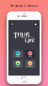 Meme App For Iphone - thug life the swag meme app by rohit iyer