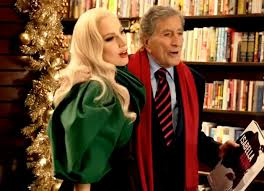 commercial lady gaga barnes and noble it s all pop 2 me lady gaga tony bennett baby it s cold outside
