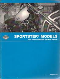 2009 harley davidson sportster models service manual part number