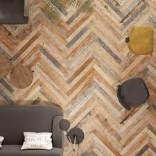 New Bedroom Wall Reclaimed Mosaic Wood Tiles Modern by Wood Look Backsplash Tile You U0027ll Love Wayfair