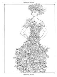 fashion design coloring pages 350 best colouring female images on pinterest drawings coloring