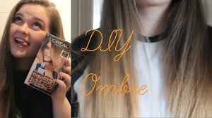 preference wild ombre on short hair diy ombre hair l oreal paris preference wild ombre youtube