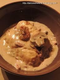 cuisiner quenelle quenelles a la sauce forestiere les délices d hélène