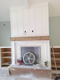 board and batten fireplace decorate the dream pinterest
