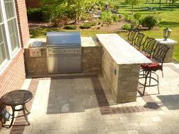 Designers Patio Detroit Outdoor Kitchen Bar Patio Traditional With Granite