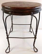 Metal Wood Chair Ice Cream Parlor Chairs Ebay
