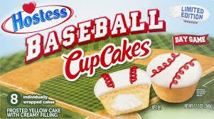 Best Hostess Hostess Baseball Cupcakes Yellow 8 Ct Walmart Com