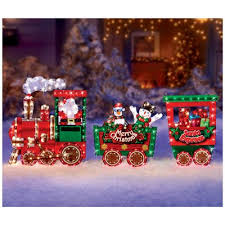 Train Decor Christmas Outdoor Train Decoration Rainforest Islands Ferry