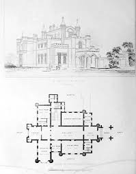 gothic mansion floor plans design for a country estate england floor plans castles
