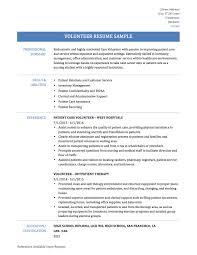 Civil Engineer Resume Sample Resume Volunteer Experience Sample Resume For Your Job Application