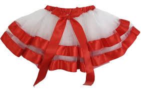 ribbon trim white tutu skirt with ribbon trim wenchoice