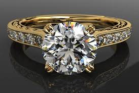 yellow gold diamond rings what is milgrain vintage beauty in modern jewelry ritani
