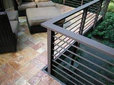 Contemporary Handrails 26 Most Stunning Deck Skirting Ideas To Try At Home Balcony