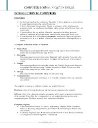 communication u0026 computer skills