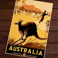 Australia Home Shopping Decor by Compare Prices On Vintage Australia Poster Online Shopping Buy