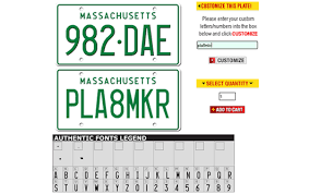 Vanity Phone Number Generator Platemaker Custom Front License Plates Personalized Vanity Auto