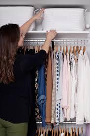 creating an open closet system u2013 a beautiful mess