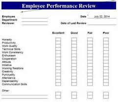 annual performance evaluation form pdf business continuity plan