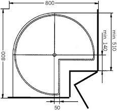 eckschrank küche drehboden 3 4 kunststoff karussell eckschrank rondell de