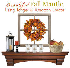 decorate your fall mantle in minutes two different ways our