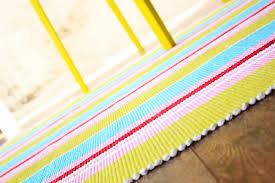 Yellow Striped Rug Striped Cotton Rug Grey Striped Cotton Rug Rugs Decoration Zara