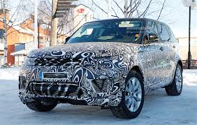 range rover land rover 2018 2018 range rover sport plug in hybrid spied looks different than