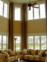 Curtains High Ceiling Decorating Curtains And Drapes For High Ceilings Decorate The House With