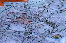 Strasbourg France Map by How To Bicycle Alsace