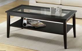 Glass Living Room Table by Best 10 Of Wood Glass Coffee Tables Round And Square