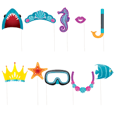 photo booth props the sea party photo props the sea party accessories