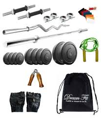 Snapdeal Home Decor Dreamfit 50 Kg Home Gym Buy Online At Best Price On Snapdeal