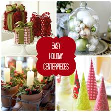 easy make christmas table decorations easy to make centerpiece