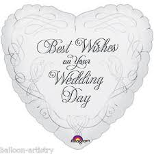 best wishes for wedding 18 best wishes wedding day doves heart party foil balloon