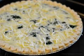 Spinach Quiche With Cottage Cheese by Lightened Up Ham U0026 Spinach Quiche U2013 Chew Nibble Nosh