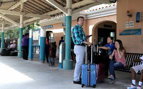 Tri Rail Map Tri Rail To Start Service Between Palm Beach County And