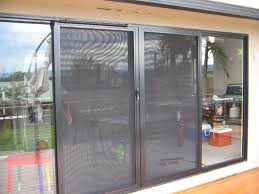 decor patio sliding door with white frame for home decoration ideas