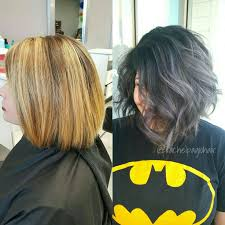 how to blend in gray roots of black hair with highlig best 25 black and silver hair ideas on pinterest black and grey