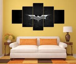 movies arts n games dark knight fans hq 5 piece art canvas print