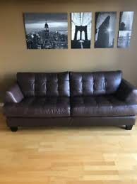 leather couch from the brick buy and sell furniture in ontario