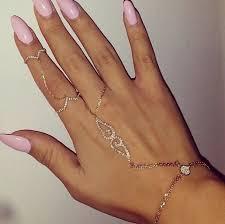 ring cuff bracelet images Jewels bracelets pretty gorgeous diamonds rhinestones ring jpg