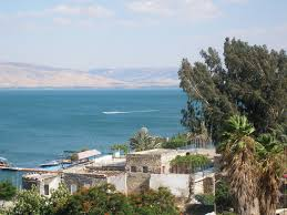 Gennesaret Map Morning On The Sea Of Galilee The Sea Of Galilee Also Kinneret