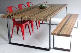 stainless steel and wood dining table with ideas hd photos 7721