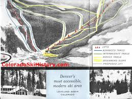 Map Of Loveland Colorado by The History Of Loveland Ski Area