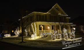 Professional Christmas Lights Chicago Area Professional Christmas Light Installation Northern