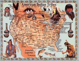 american indian territory map oklahoma native american