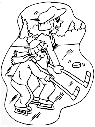hockey coloring pages u2013 birthday printable