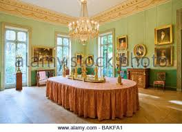 Empire Style Interior France Paris Musee Marmottan Empire Style Furniture Stock Photo
