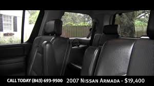 nissan armada platinum for sale in houston 2007 nissan armada for sale simmons motor company charleston