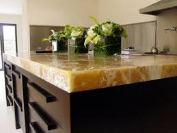 Dark Kitchen Countertops - kitchen great kitchen design with dark brown kitchen island