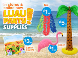 the party supplies dollar tree you bring the hula we ll bring the party supplies